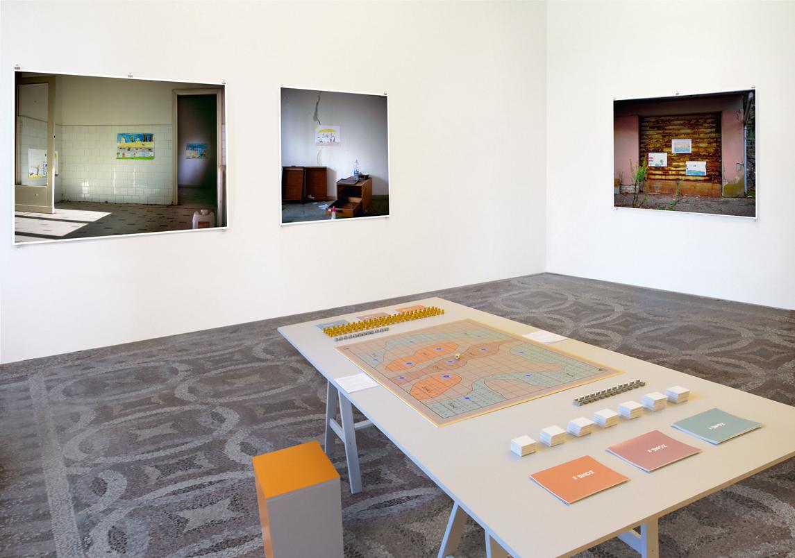 Mikhail Karikis, Larderello: the Board Game, 2014