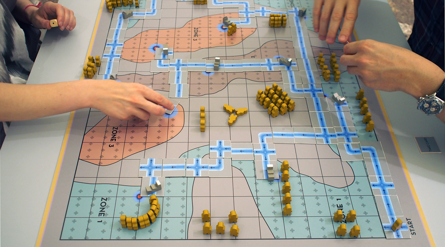 Mikhail Karikis, Larderello: the Board Game, 2014