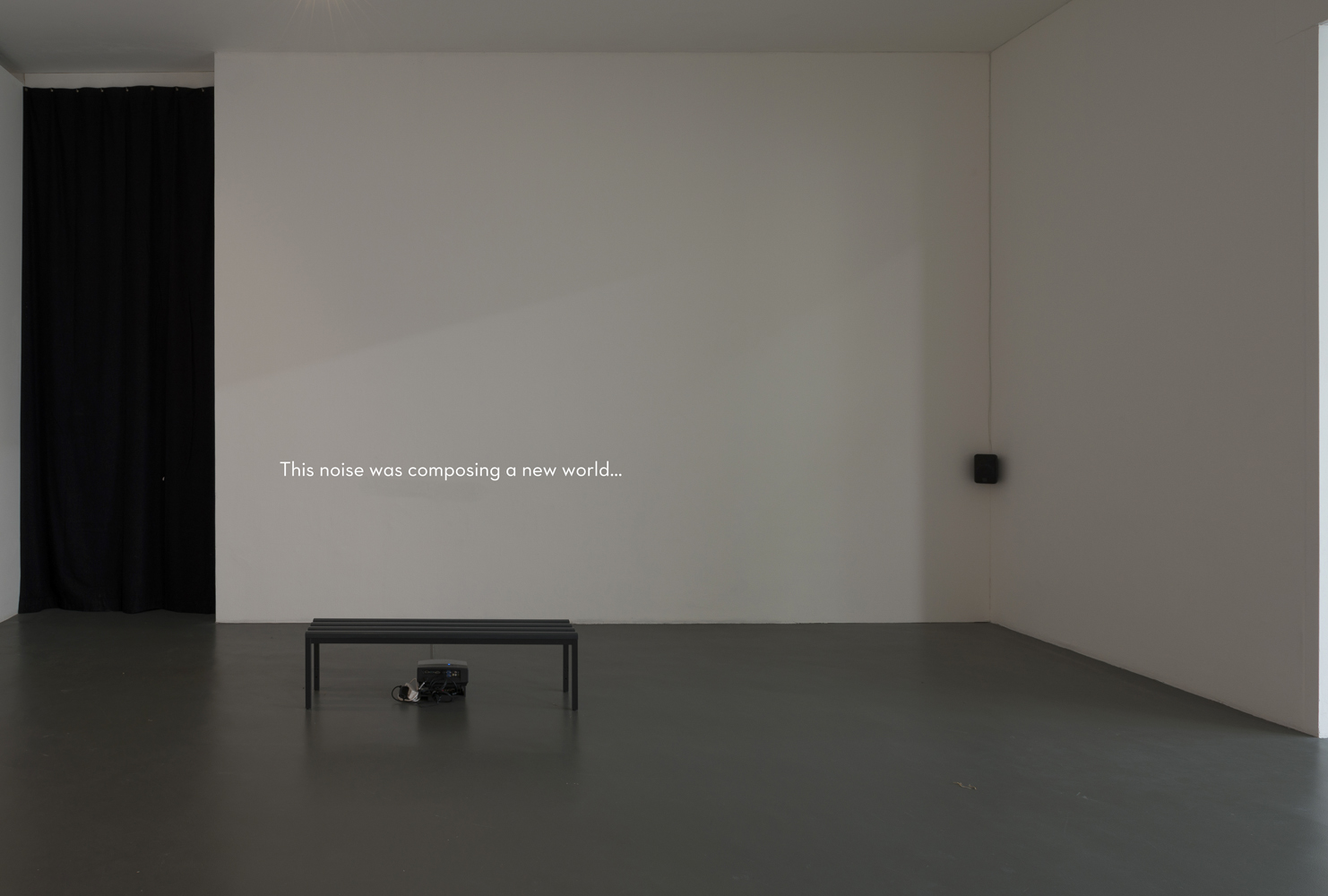 Mikhail Karikis, 102 Years Out of Synch (installation-2015), Witte de With, Rotterdam 2015