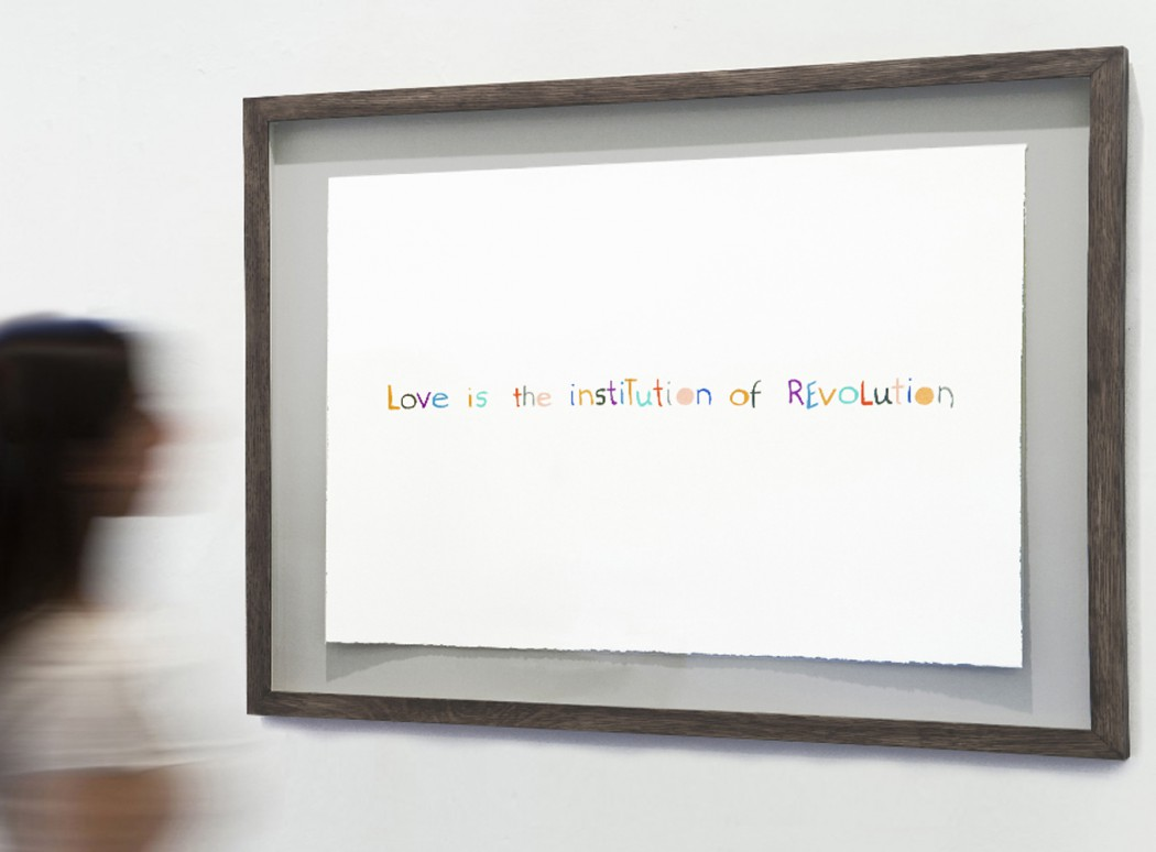 Mikhail Karikis Love Is the Institution of Revolution, installation view, Villa Romana, Florence, 2014