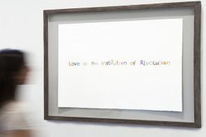 Mikhail Karikis Love Is the Institution of Revolution, installation view, Villa Romana, Florence, 2014