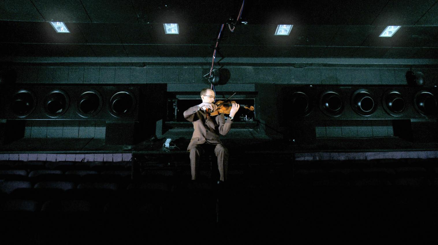 Xenon: the film (still), 2012. Feat. Conall Gleeson.