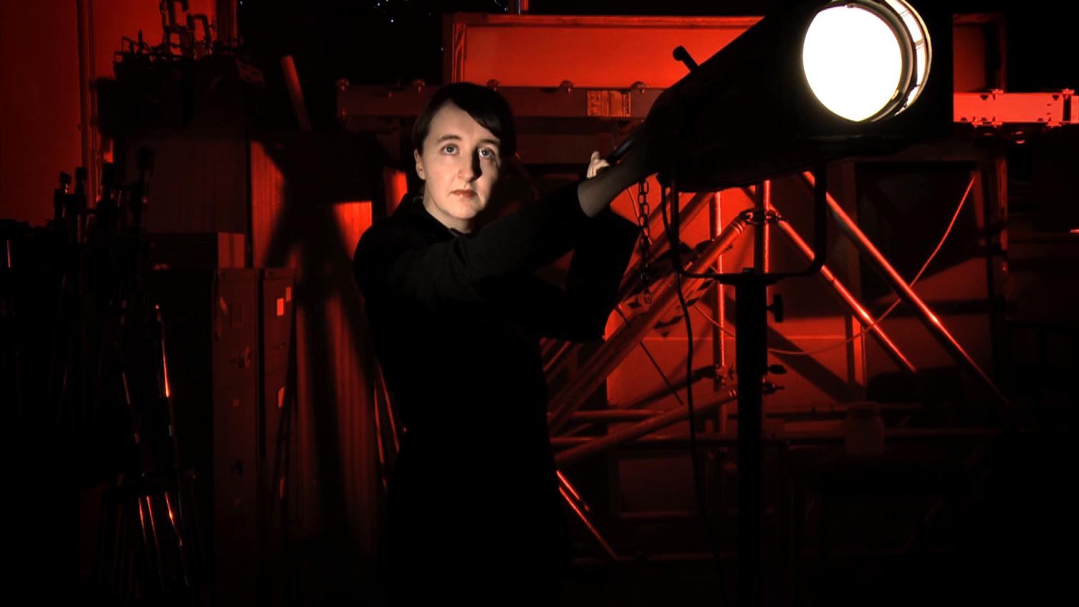 Xenon: the film (still), 2012. Feat. Amy Cunningham.