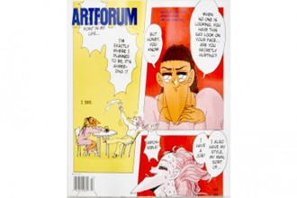Artforum review features Children of Unquiet