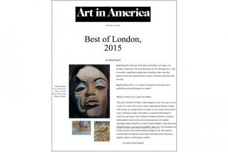 Mikhail Karikis in Art in America